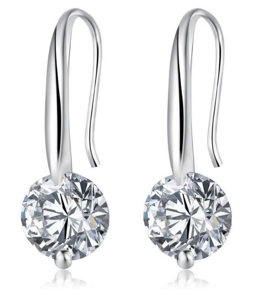 Swarovski Sterling Silver High Quality Cz Elegant Earrings For Women S By Stylish