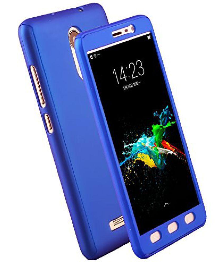 Moto G5 Plain Cases Kosher Traders - Blue