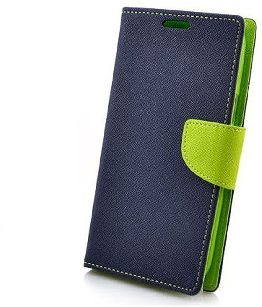 Xiaomi Redmi Note 4 Flip Cover by peezer   Blue