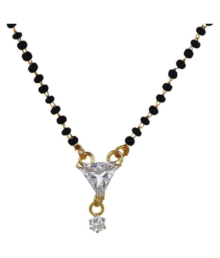PCHALK Shining Diva AD Stone Womens Pride Mangalsutra Gift Your Love One