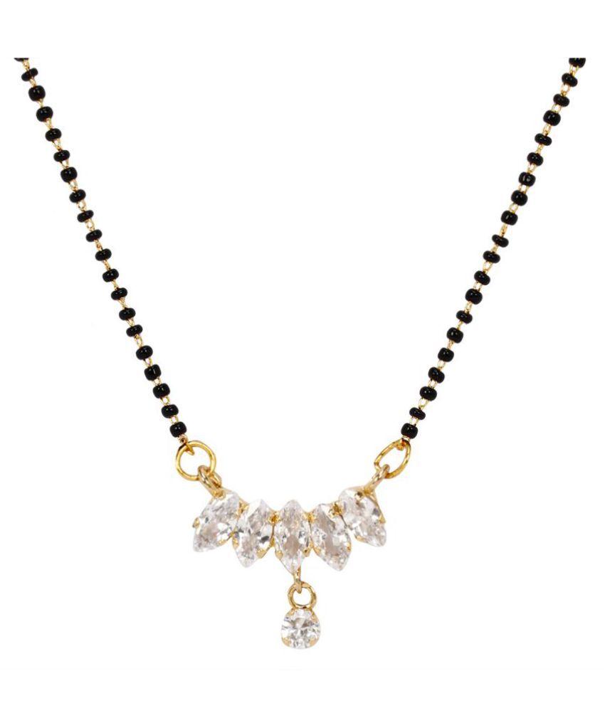 Jewels Gehna Exclusive Traditional Feminine Elegant Unique Latest Mangalsutra For Women & Girls