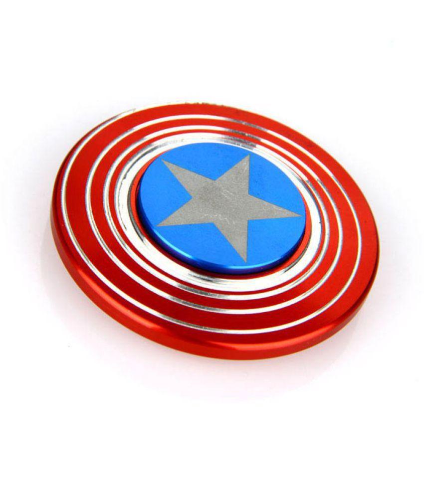 ... Frappel™Captain America Shield Metal Fidget Hand Spinner ...