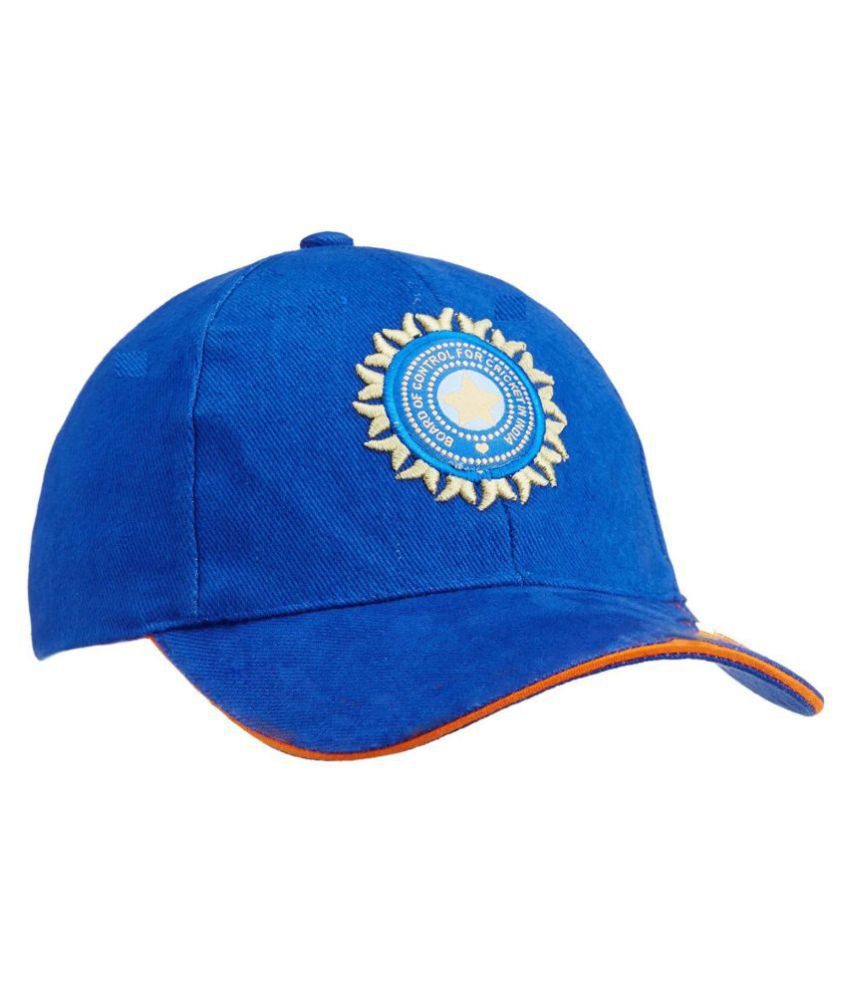 51c8b895b5376 INDIAN CRICKET TEAM CAP FOR BOYS AND GIRLS  Buy Online at Low Price ...