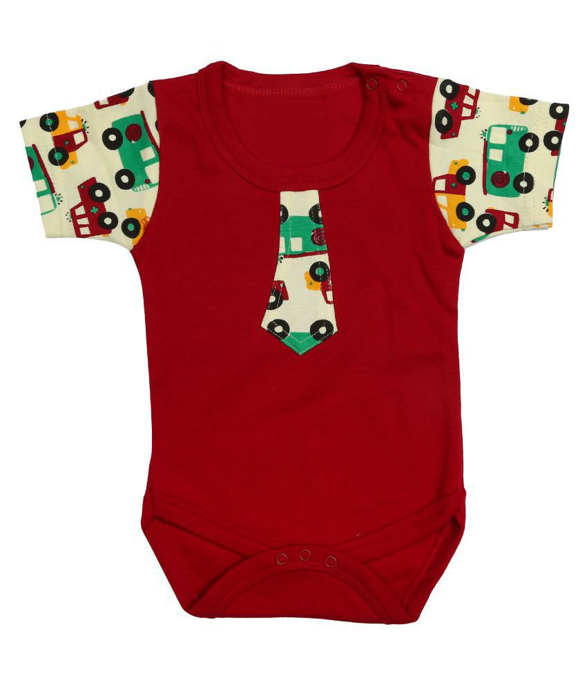 c848e411205d Kaboos Brown Colour Cotton Romper for Boys - Buy Kaboos Brown Colour Cotton  Romper for Boys Online at Low Price - Snapdeal