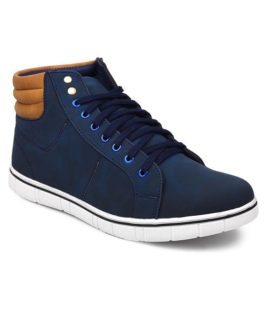 Arthur Blue Casual Boot
