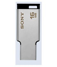 Sony Metal Body 16GB USB 2.0 Utility Pendrive Pack of 1