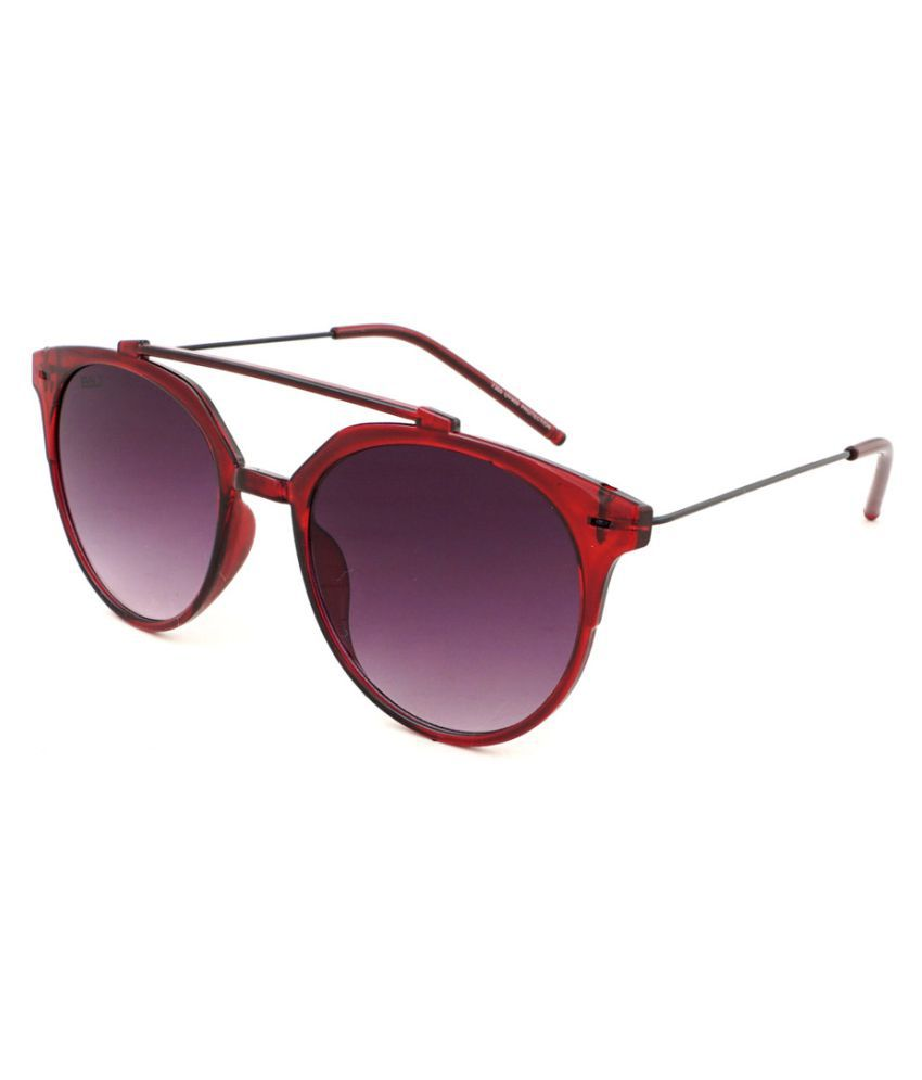 BOLT Grey Aviator Sunglasses ( 7355 )