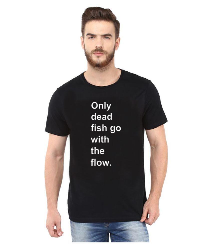 Smoky Black Round T-Shirt