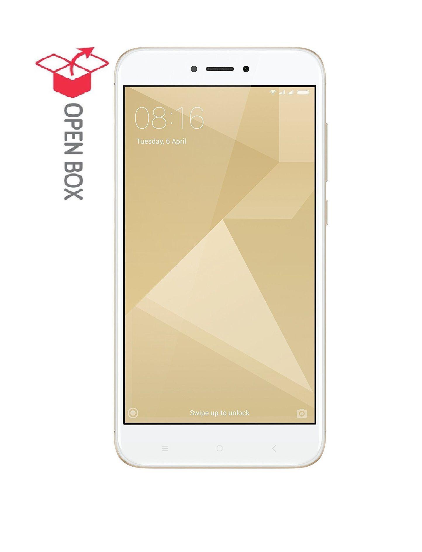 OPEN BOX Redmi 4 32GB Gold 3 GB RAM with Cloud Earphone bo Pack