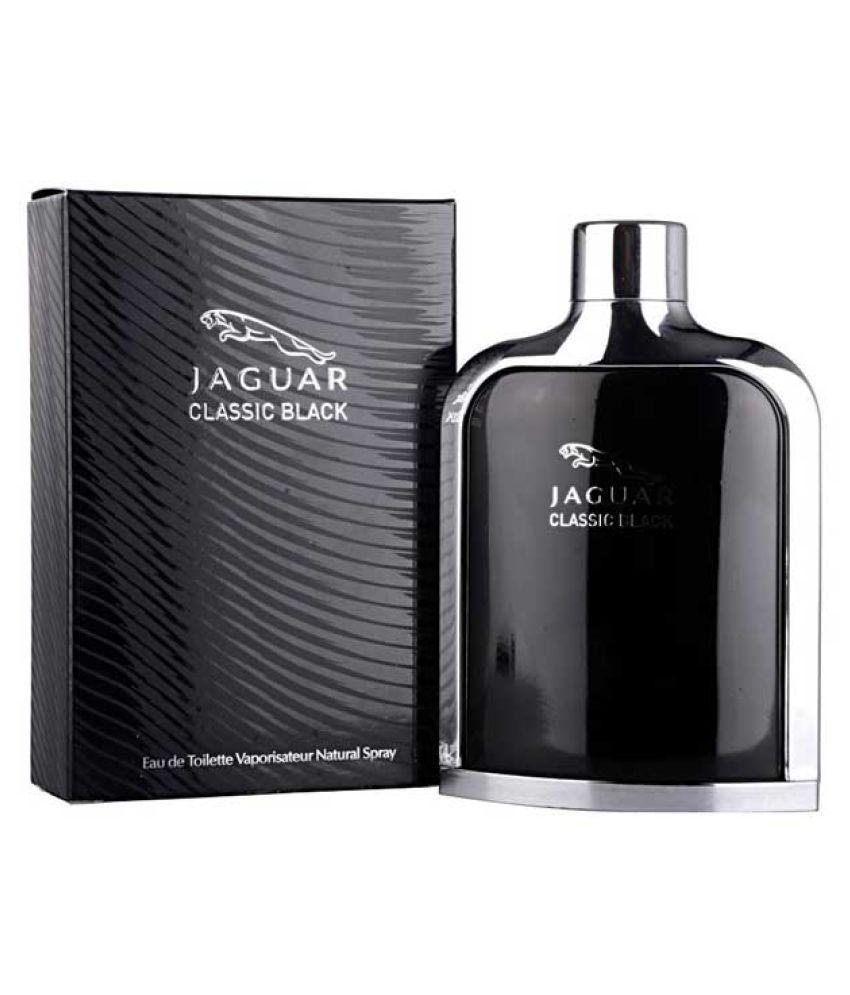 Jaguar Perfume Price In India: Jag Perfume Classic Black Men's EDT Perfume- 100 Ml: Buy Online At Best Prices In India