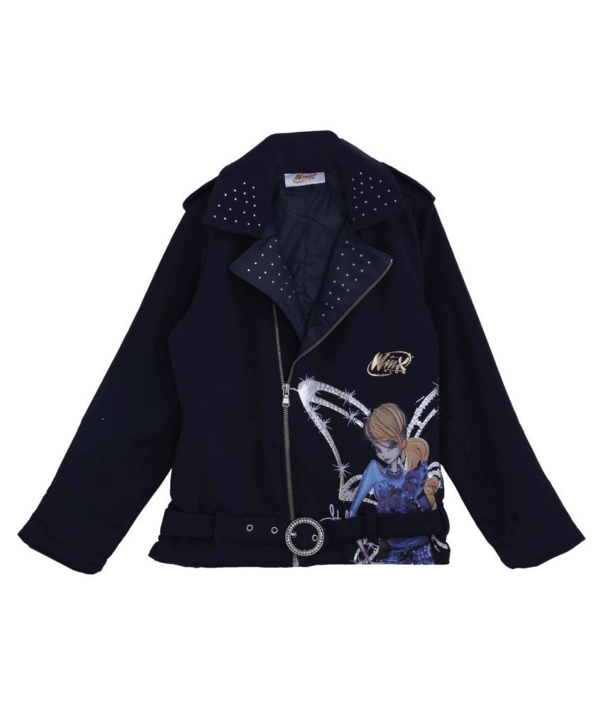 WINX Girl's Sweatshirt-Navy