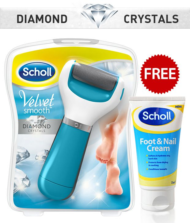 Scholl Velvet Express Pedi With Free Foot & Nail Cream 25 Ml
