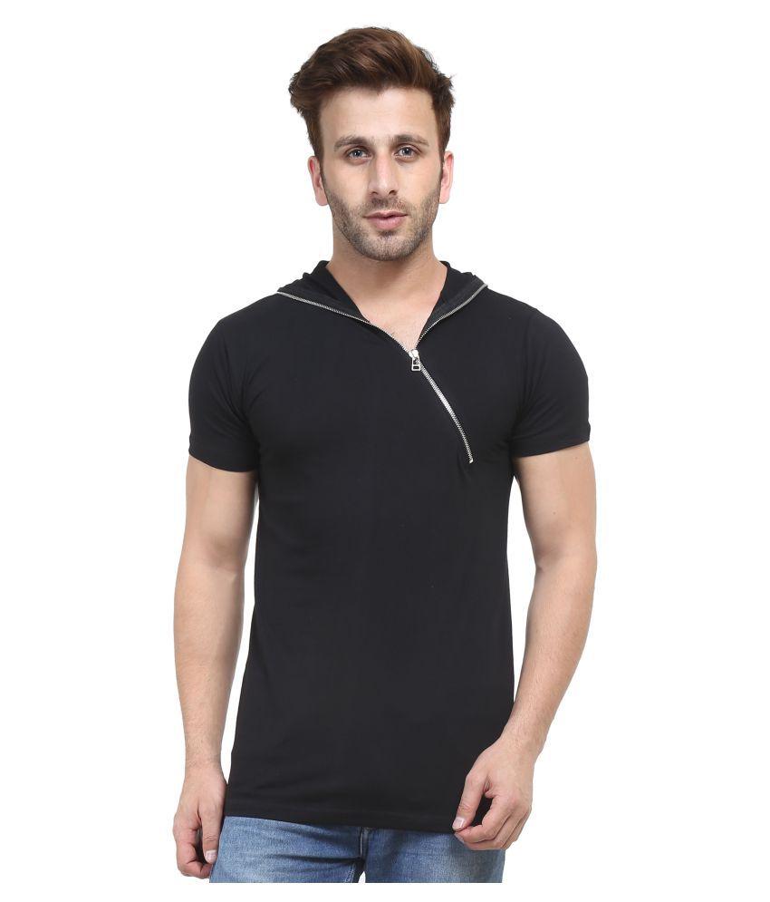 ACOMHARC INC Black Hooded T-Shirt