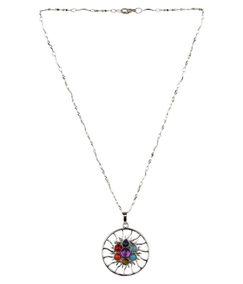 Diva Walk multi alloy  necklace