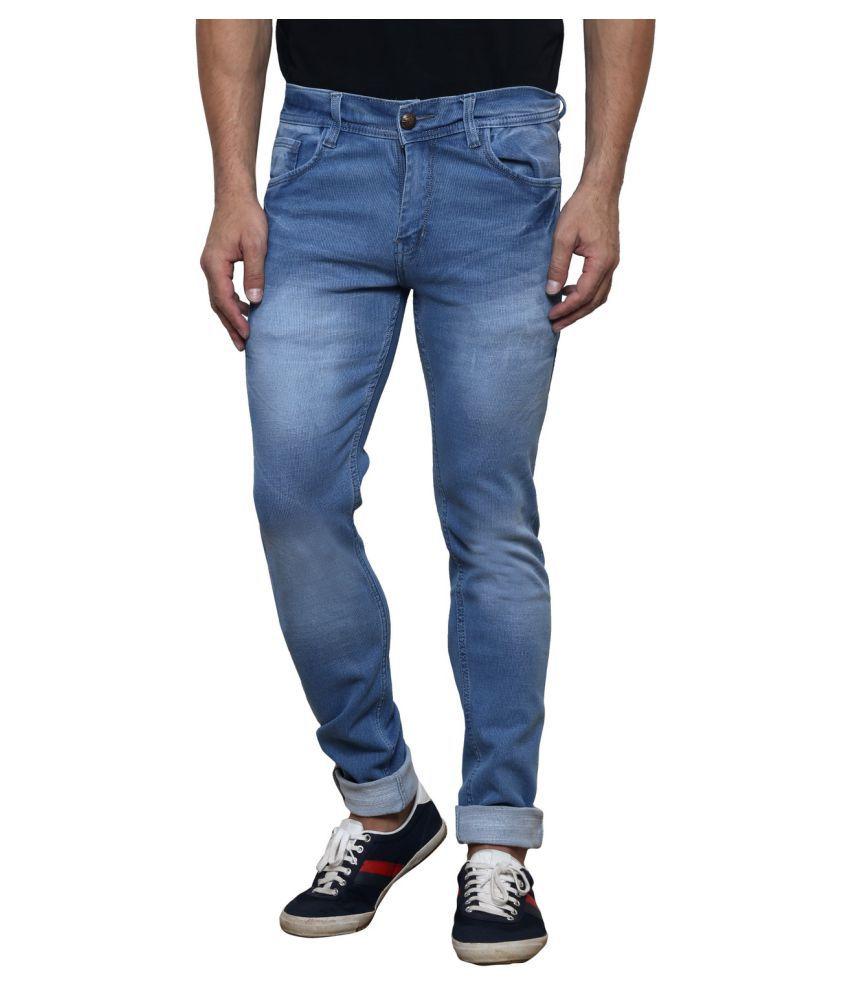 K-SAN Light Blue Slim Jeans