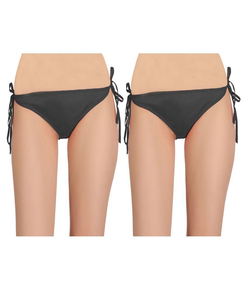Fashion Comfortz Net/Mesh Bikini Panties