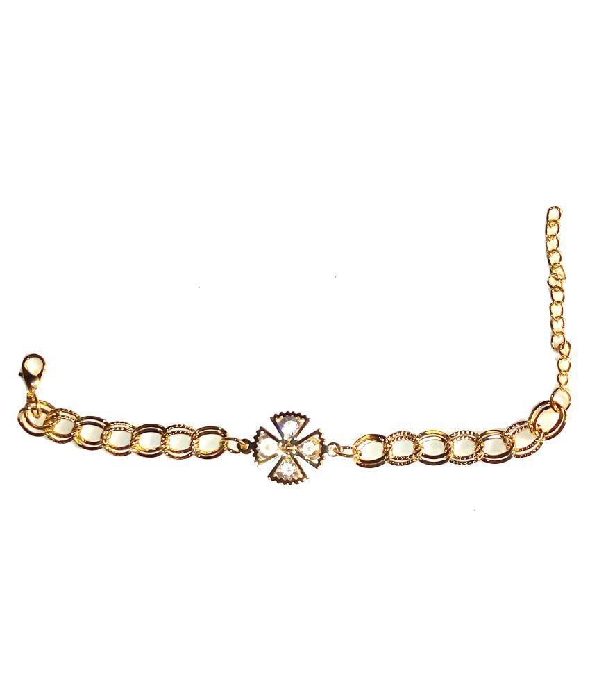 Shrungarika Golden Bracelet