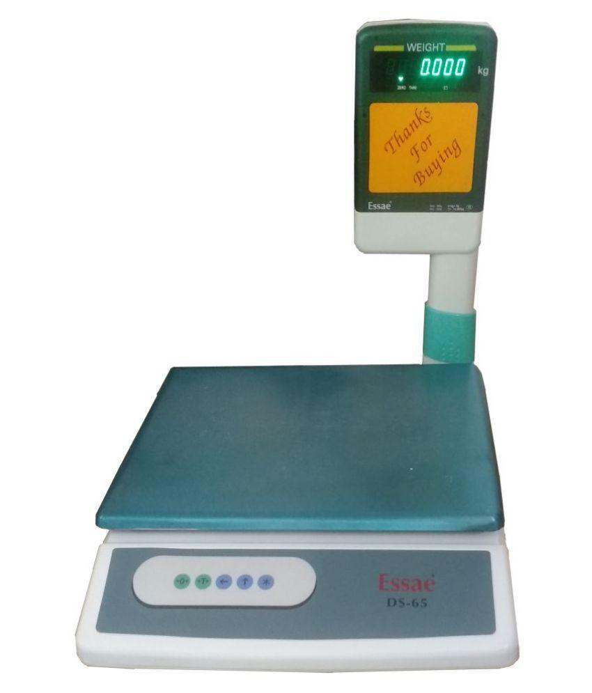 Essae Digital Kitchen Weighing Scales Weighing Capacity - 33 Kg: Buy ...