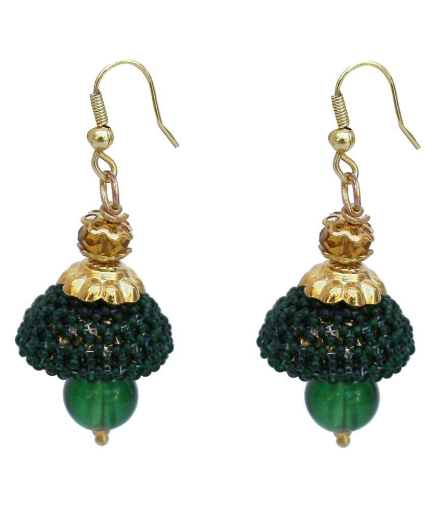 Lucky Jewellery Pearl Jhumki Earring