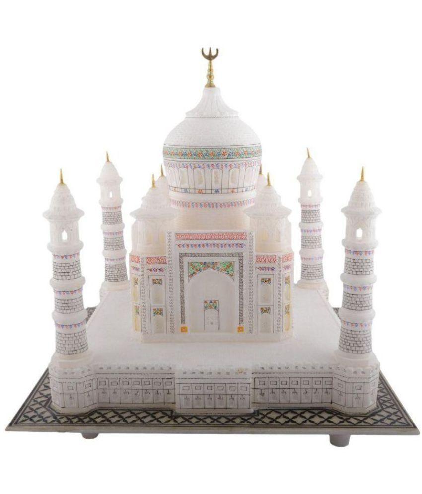 Pooja Creation White Taj Mahal