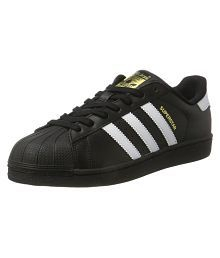 Adidas Superstar Sneakers Black Casual Shoes