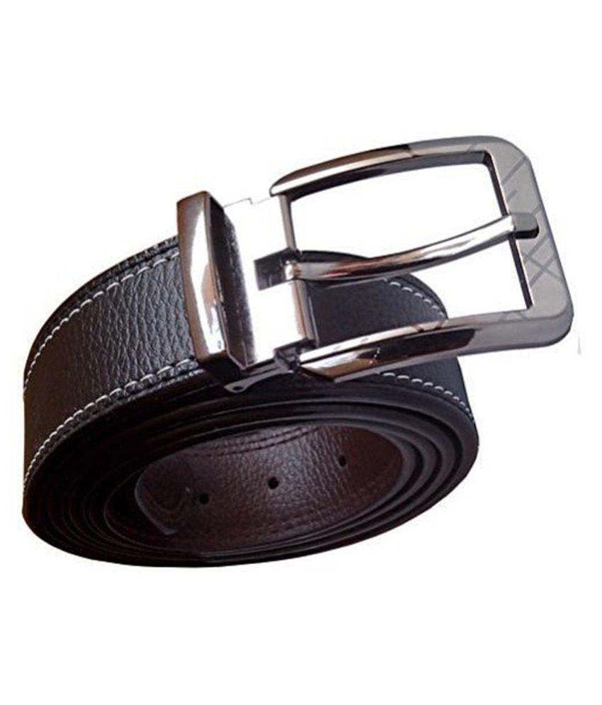 KESARI Black PU Casual Belts