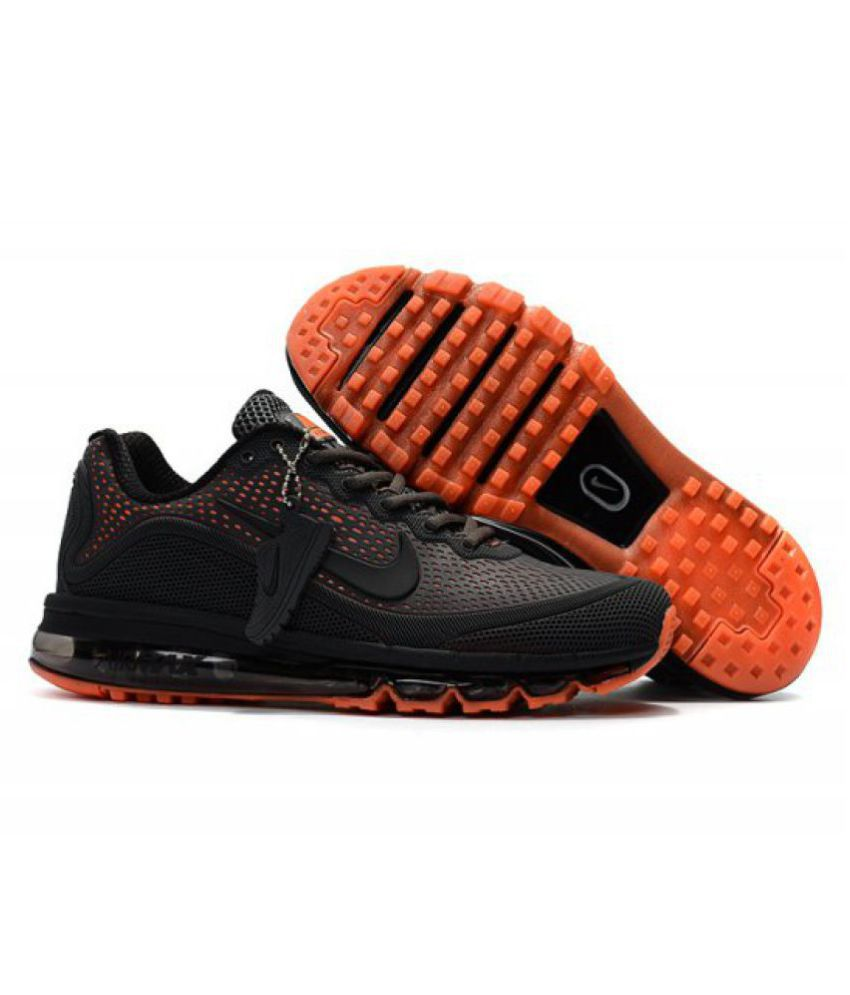 Nike AIRMAX 2018 Black Training Shoes - Buy Nike AIRMAX 2018 Black Training  Shoes Online at Best Prices in India on Snapdeal 8a25e3f135d3