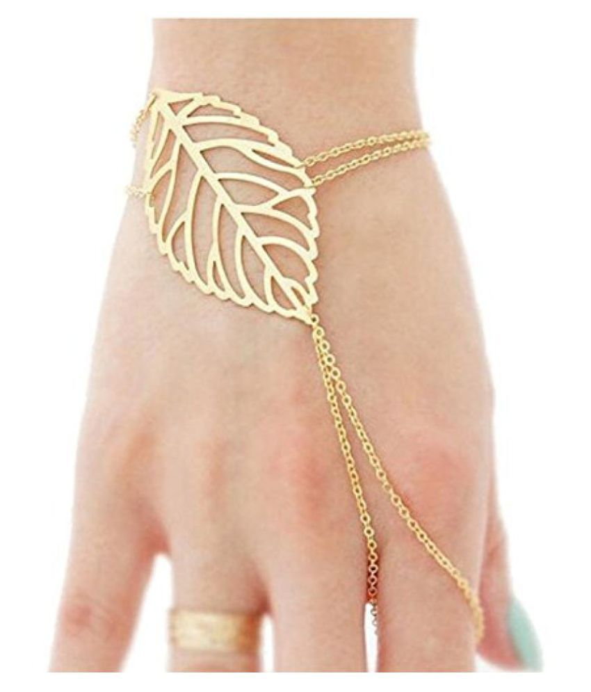 hollow light bracelet fancy two tone