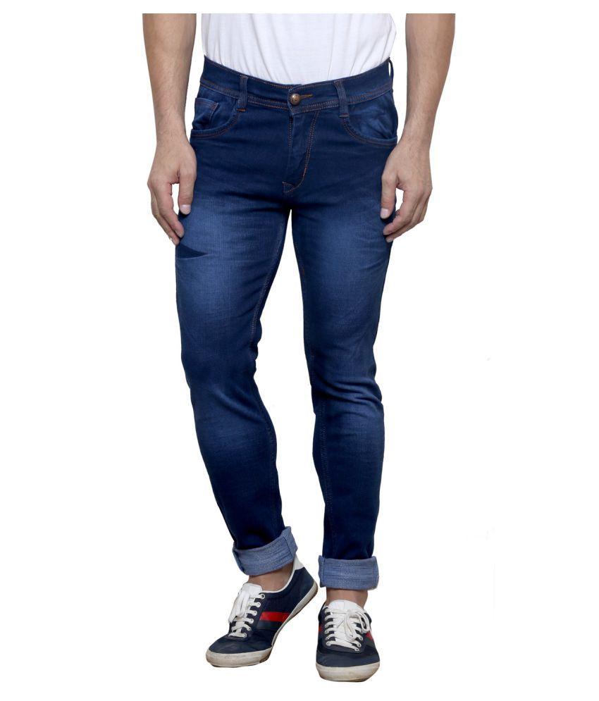 K-SAN Blue Slim Jeans