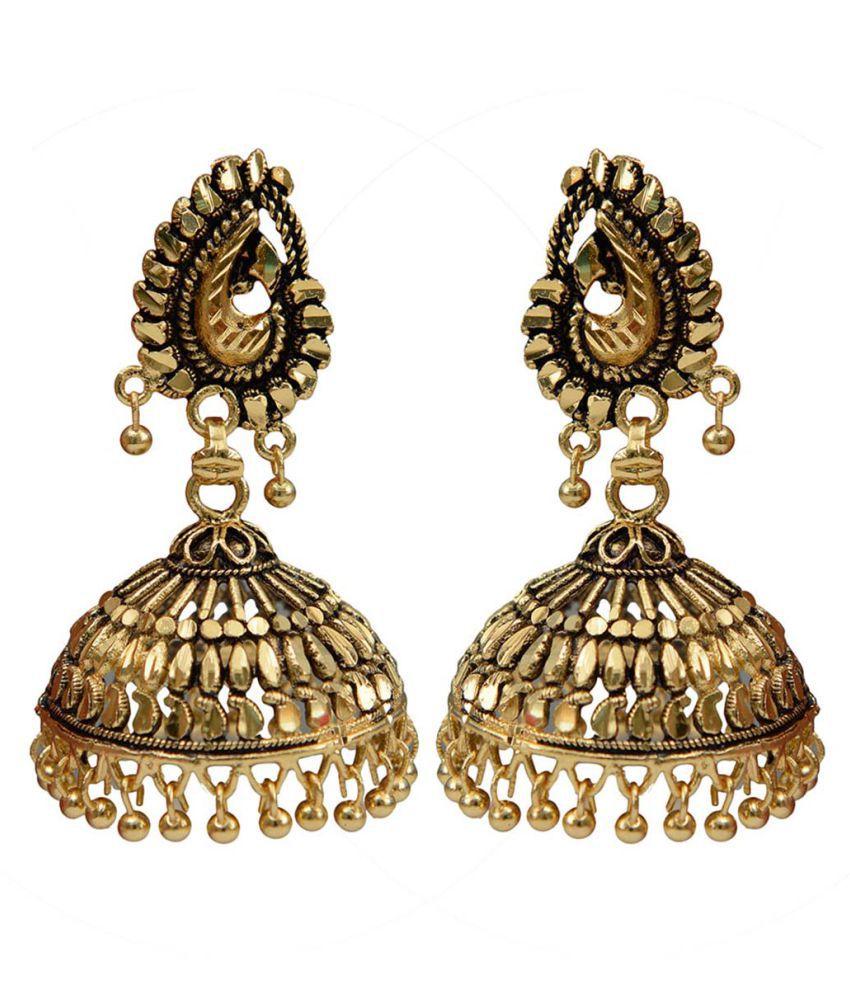 Taj Pearl Designer Wedding wear Traditional Earrings