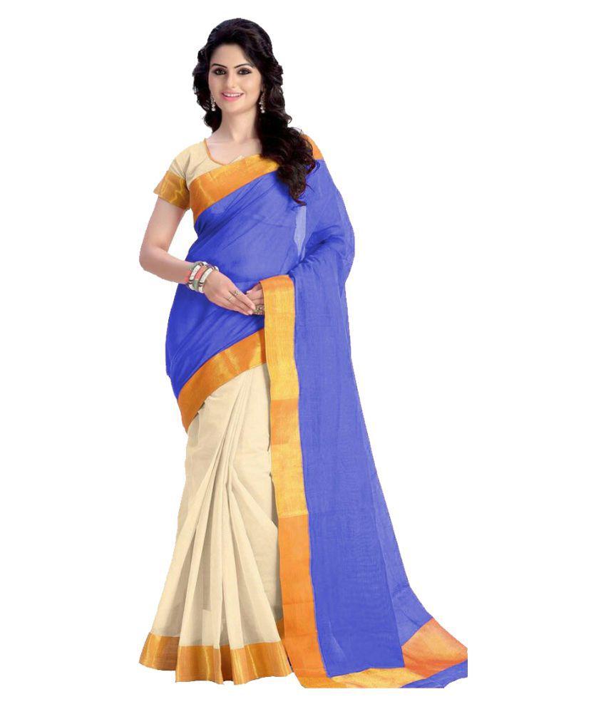 Kavya Fashion Multicoloured Cotton Silk Saree