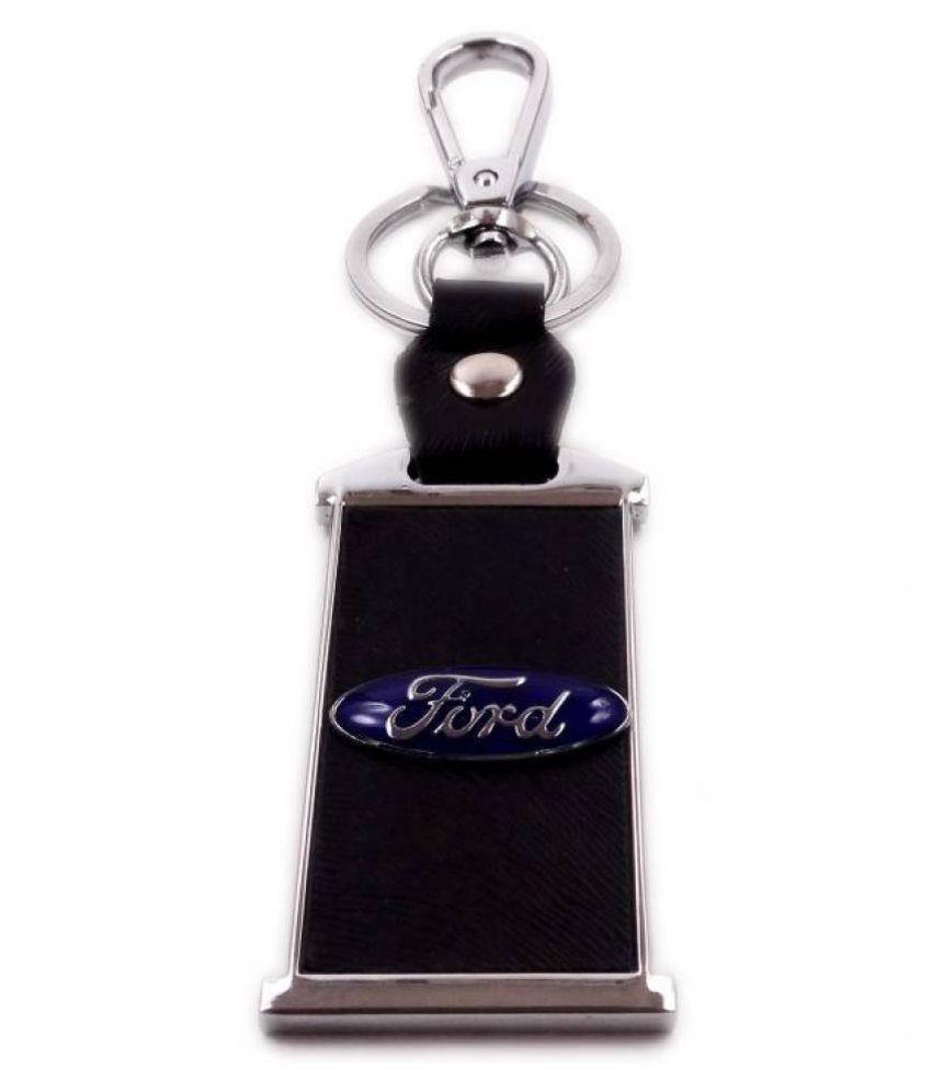 Shubheksha Ford Logo Locking Key Chain (KC-074)