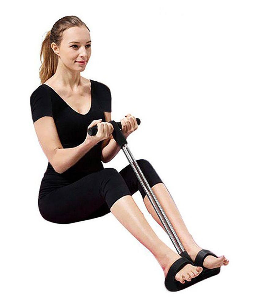 Gym Equipment Vadodara: Anson Tummy Trimmer Sports Double Spring Abdominal