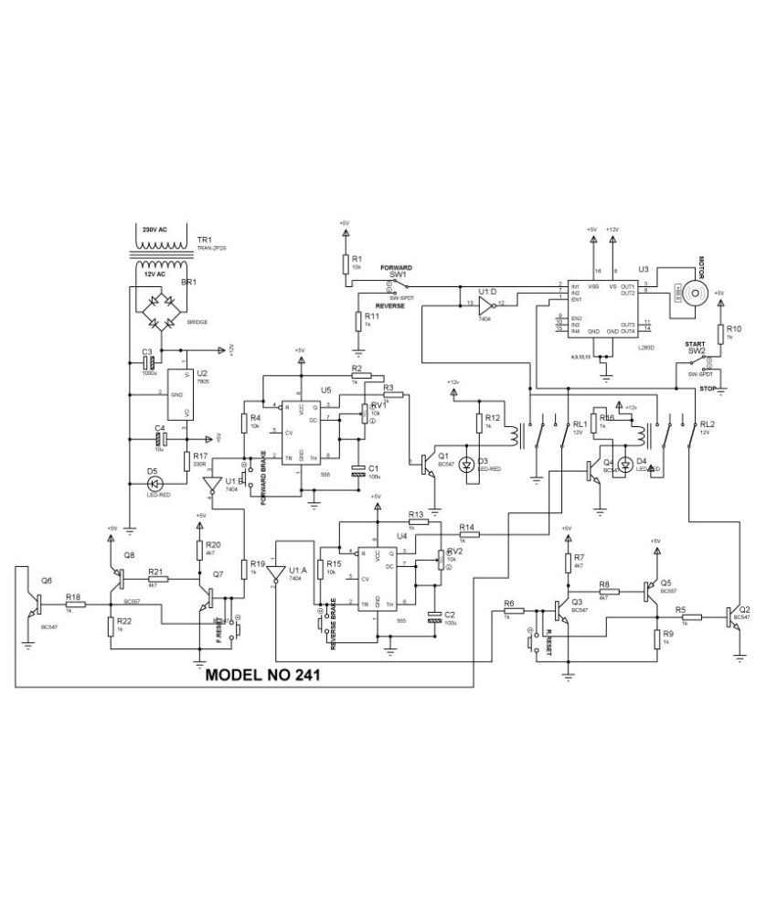 four quadrant dc motor control
