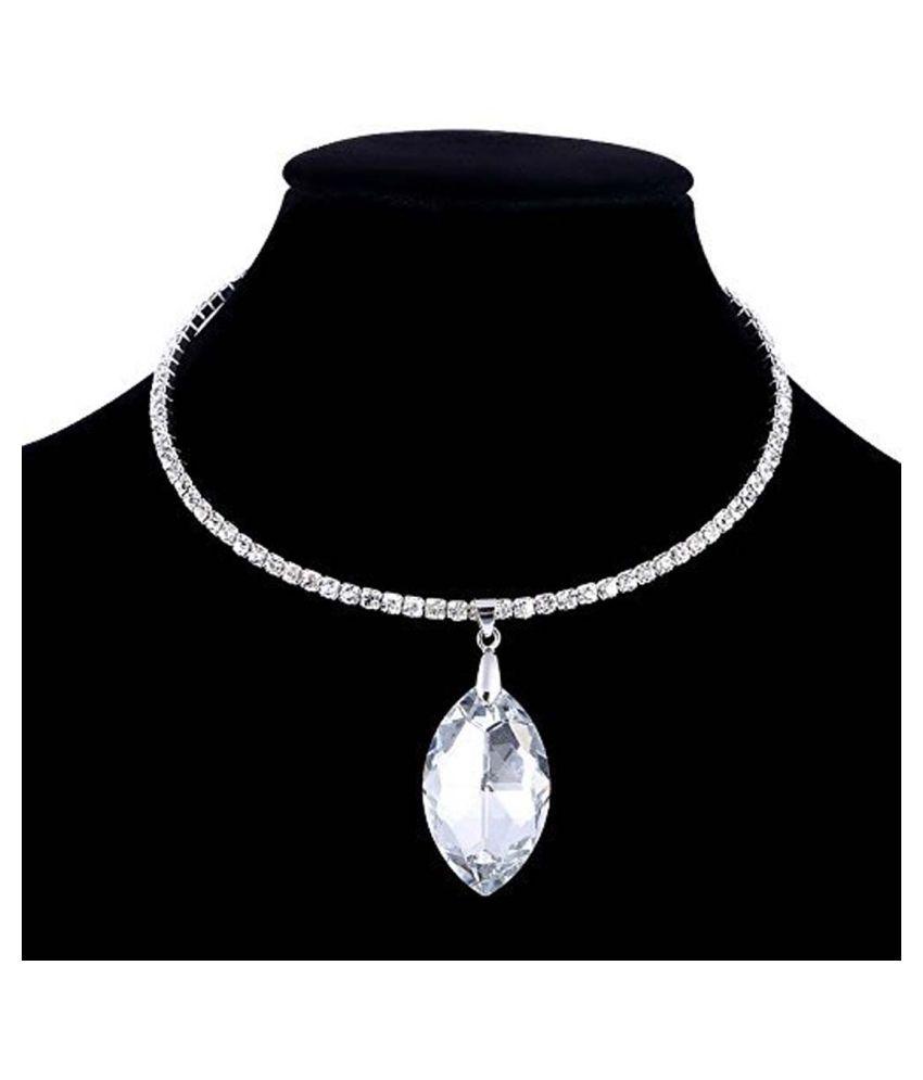 Shining Diva Party Wear Choker Necklace