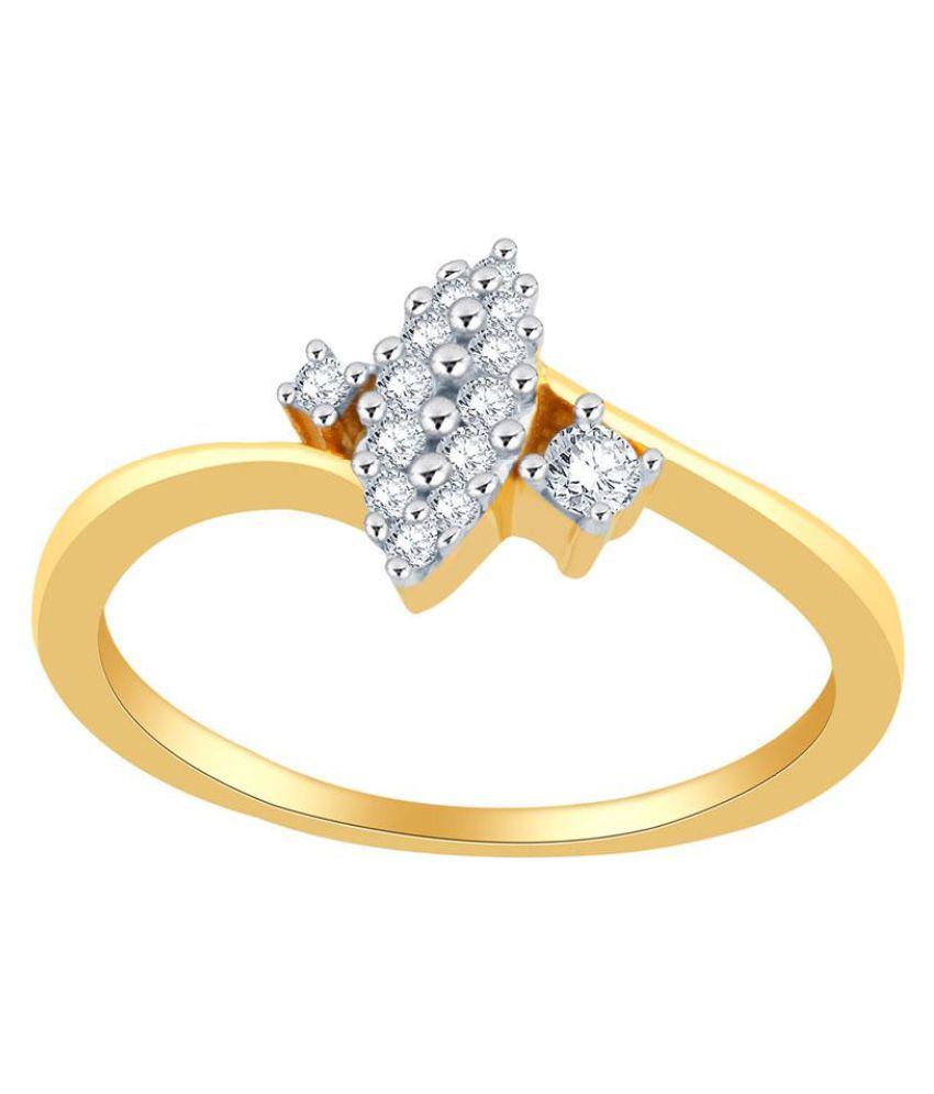 Asmi 18k Yellow Gold Ring
