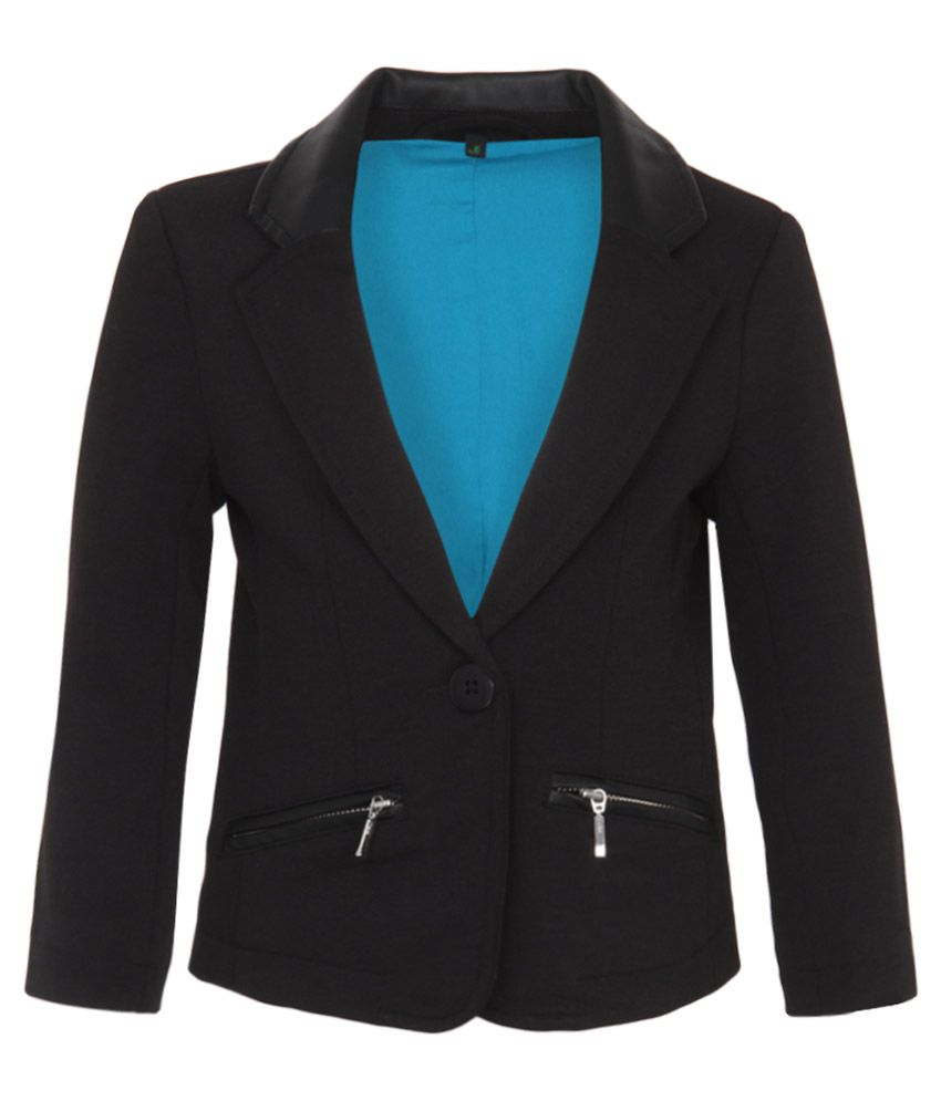 United Colors Of Benetton Black Girls-Jackets