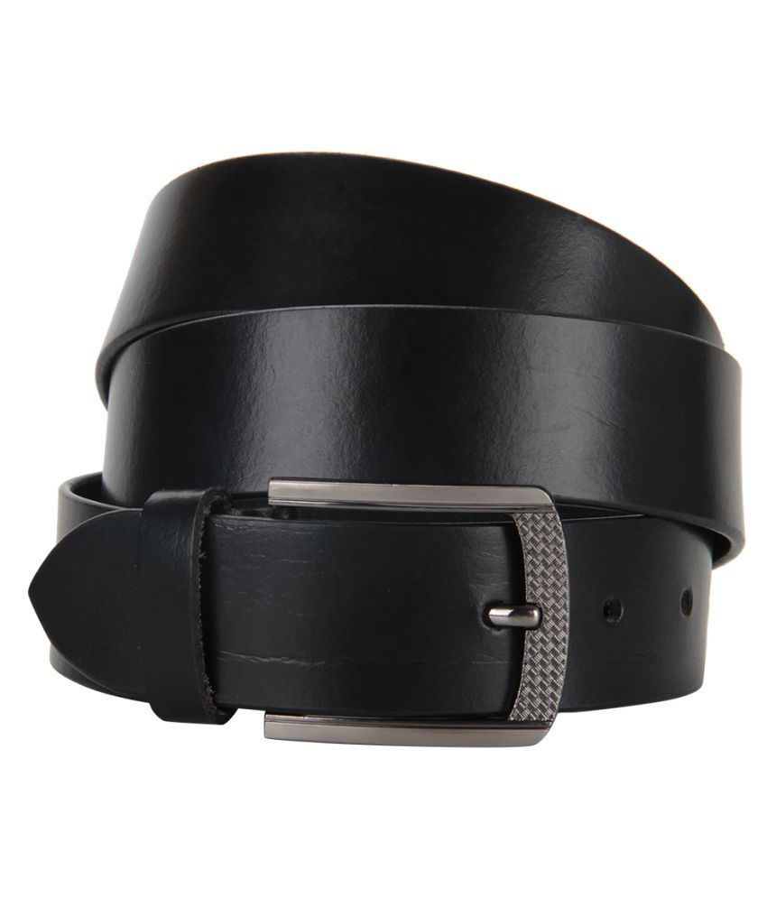 Cottage Accessories Black Leather Formal Belts