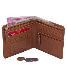 Louis Philippte Leather Brown Casual Regular Wallet
