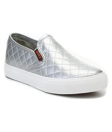 Sparx Silver Casual Shoes