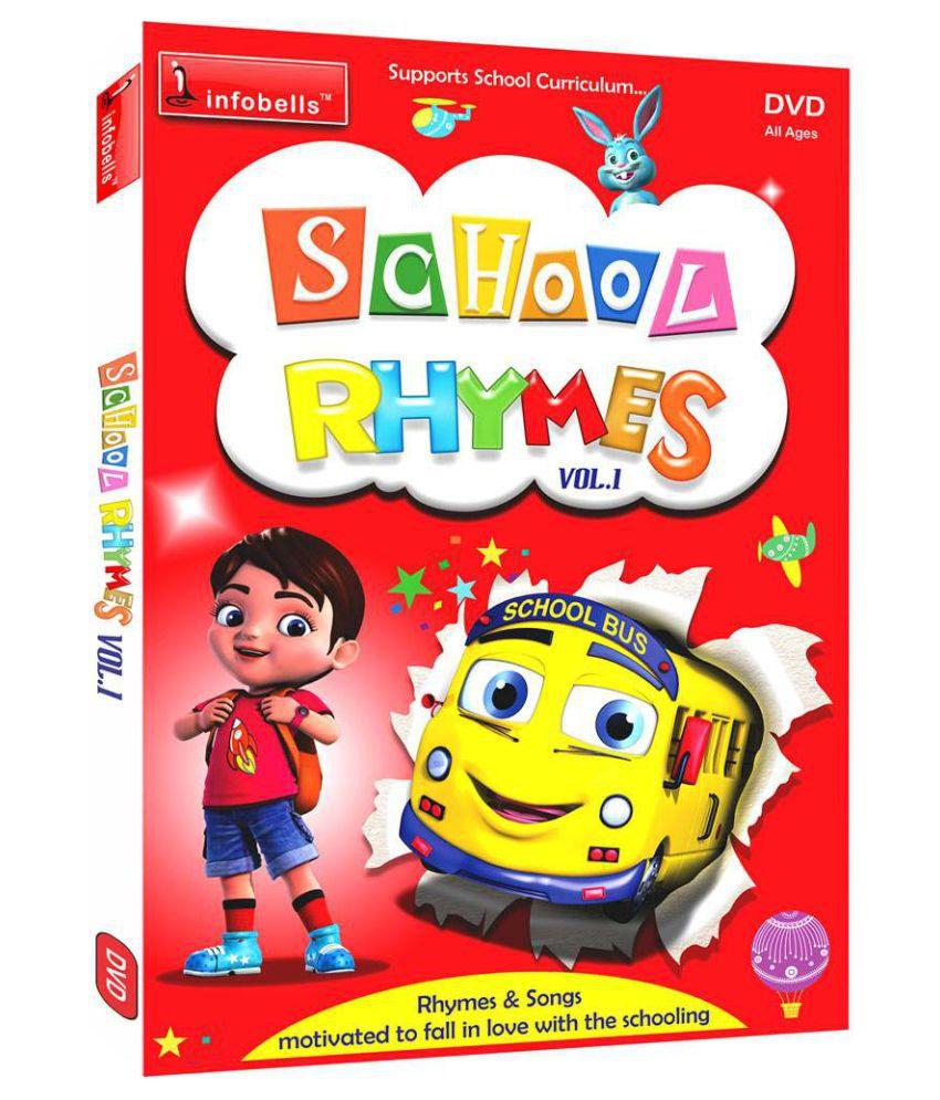 School Rhymes vol1 ( DVD )- English