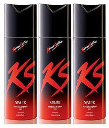 KamaSutra Sprak Deodorant Spray 150ml Pack of 3