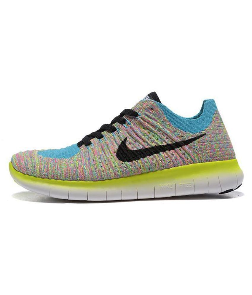 b4410ae305f7f Nike Free RN Flyknit Mens Running Shoes available at SnapDeal for Rs.3799