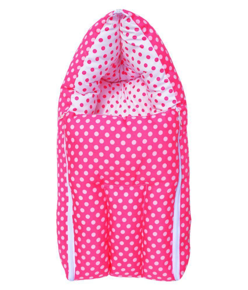 Younique Pink Cotton Sleeping Bags ( 66 cm × 50 cm)