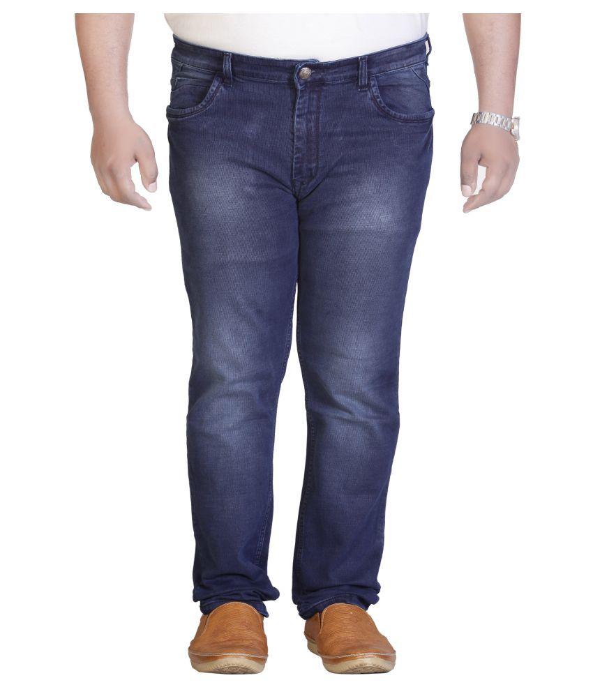 PRANKSTER Dark Blue Slim Jeans