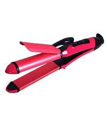 Bentag 2 in 1 Hair Straightener ( Pink )