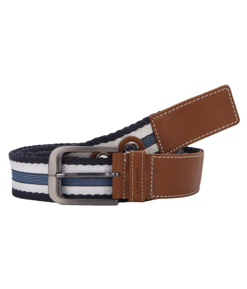Aditi Wasan Multi Leather Casual Belts