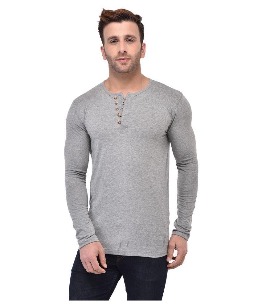 Gespo Grey Round T-Shirt