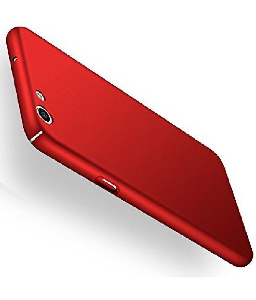 brand new 42044 df470 VIVO Y55S Plain Cases 2Bro - Red