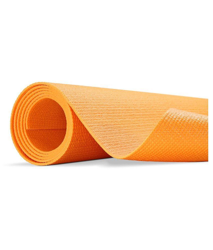 Giftadia Yoga Mat Orange 4 mm Extra Long 20e49e7a98578